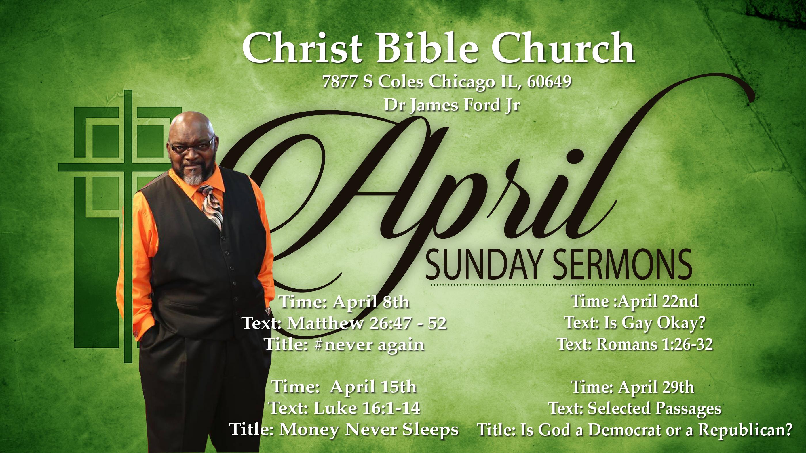 April_Sunday sermons
